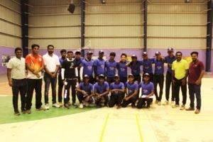 திருச்சியில் முதல்முறையாக கார்ப்பரேட் லீக் உள்ளரங்க கிரிக்கெட் போட்டி: