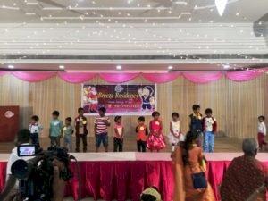 திருச்சி பிரீஸ் ரெசிடென்சியில் கிறிஸ்துமஸ் விழா கோலாகல கொண்டாட்டம்:
