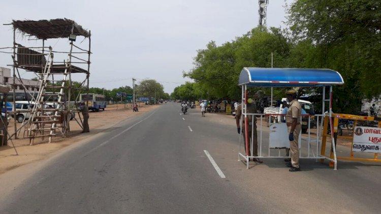 திருச்சி மாவட்ட எல்லைகளில் தீவிரப்படுத்தப்படும் கண்காணிப்பு