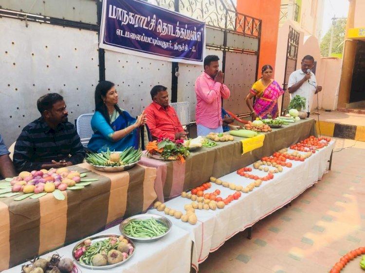அடுத்தகட்டமாக திருச்சி இடைமலைப்பட்டி புதூரில் அட்சயபாத்திரம் திட்டம்!