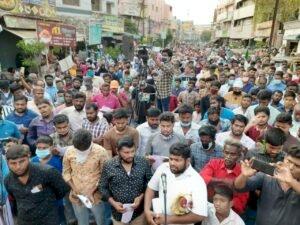 பாபர் மசூதி தீர்ப்பைக் கண்டித்து 1000க்கும் மேற்பட்டோர் திருச்சியில் ஆர்ப்பாட்டம்!