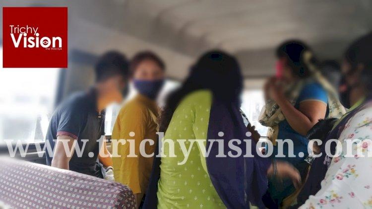 திருச்சி ஸ்பா சென்டரில் தொடரும் பாலியல் தொழில்- உரிமையாளர், 7 பெண்கள் உட்பட 10 பேர் கைது!!