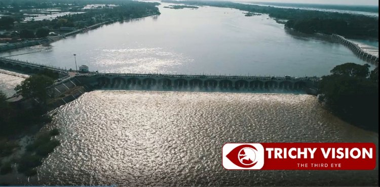 திருச்சிக்கு பெருமை சேர்க்கும் உலகின் நான்காவது பழமையான கல்லணைக் கால்வாய்-க்கு வயது 86!