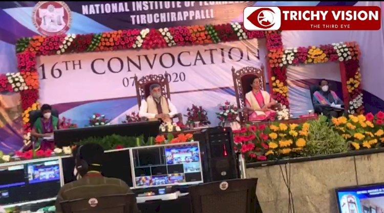திருச்சி தேசிய தொழில்நுட்ப கல்லூரியில் பட்டமளிப்பு விழா!