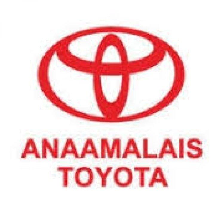 Anaamalai's Toyota கார் நிறுவனத்தில் பணியாற்ற விற்பனைப் பிரதிநிதிகள் தேவை