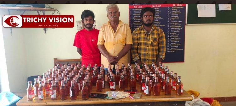 மதுபாட்டில்,லாட்டரி சீட்டு விற்ற 5 பேர் கைது