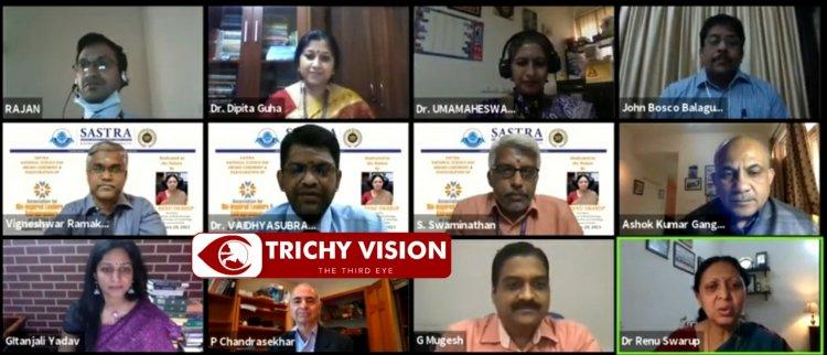 பெண் விஞ்ஞானிகளையும் அறிஞர்களையும் விருது வழங்கி கௌரவித்த சாஸ்த்ரா