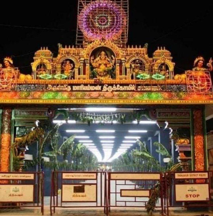 சமயபுரம் மாரியம்மன் கோவில் பூச்சொரிதல் விழா 7-ந்தேதி தொடங்குகிறது