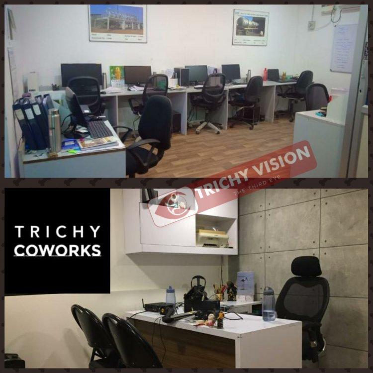 7 நாட்களுக்கு இலவச அலுவலக இடமளிக்கும் திருச்சி (Trichy Coworks)நிறுவனம்