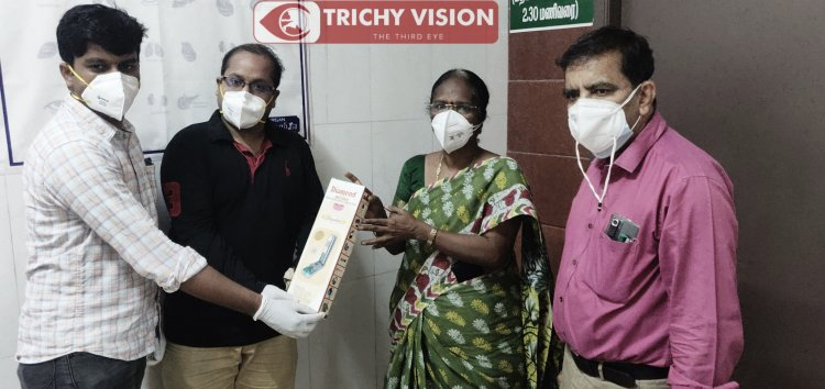 திருச்சி அரசு மருத்துவமனைக்கு MST solutions நிறுவனம் உதவி