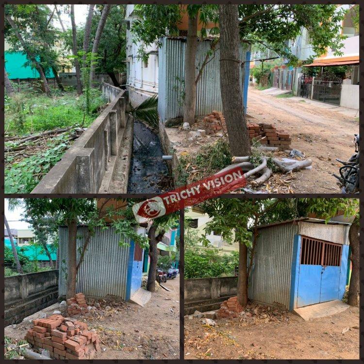 ஆக்கிரமிப்புகளை அகற்றக் கோரி பலமுறை மனுவளித்தும் கண்டுகொள்ளாத மாநகராட்சி