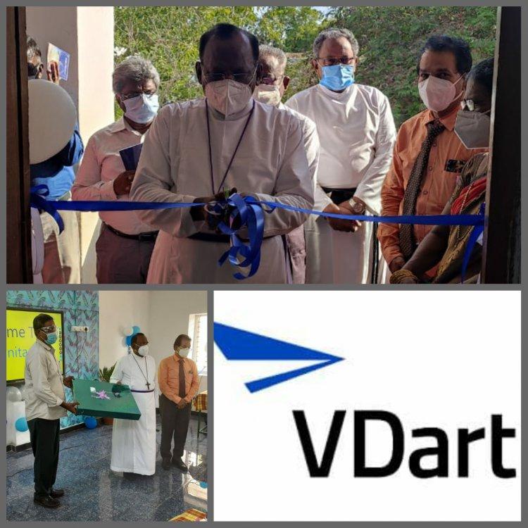 திருச்சி  வெஸ்ட்ரி மேல்நிலைப்பள்ளியில் ஸ்மார்ட் வகுப்பறை அமைத்து உதவிய VDart நிறுவனம்